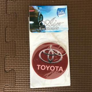 トヨタ(トヨタ)のUS 並行輸入 芳香剤 TOYOTA エアフレッシュナー (車内アクセサリ)
