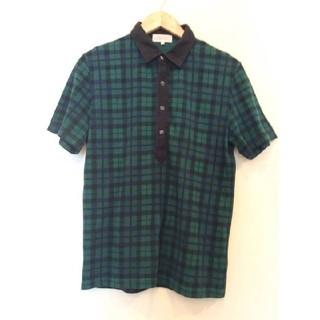 ヒロミチナカノ(HIROMICHI NAKANO)のヒロミチ ポロシャツ チェック メンズ(ポロシャツ)