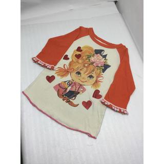 バナバナ(VANA VANA)のNo.125【VANAVANA】七分袖Tシャツ(Tシャツ/カットソー)