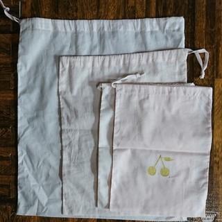 ボンポワン ショップ袋 巾着 4点セット