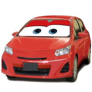 【残り2点♪】車用サンシェード  カーズ レッド(車内アクセサリ)