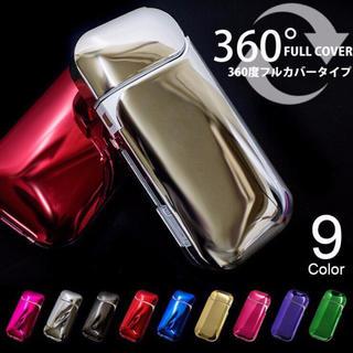 アイコスケース ハードケース メタリック 8色(タバコグッズ)