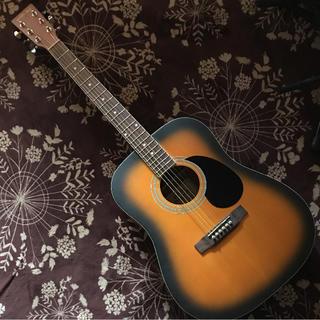 【HONEY BEE】W-15MTS 希少艶消し美品    入門セット(アコースティックギター)