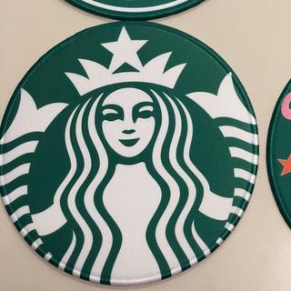 スターバックスコーヒー(Starbucks Coffee)の♡訳あり♡スタバ新ロゴマウスパッド(PC周辺機器)