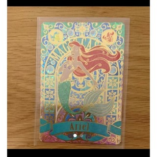 ディズニー(Disney)のマジックキャッスル アリエル(カード)