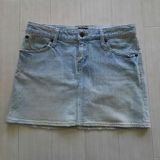 ジーユー(GU)のguデニムミニスカート64cm(ミニスカート)