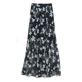 スナイデル 花柄ロングスカート