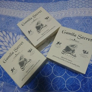 ガミラシークレット(Gamila secret)のガミラシークレット  3個まとめ売り(洗顔料)