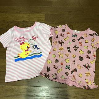 シャーリーテンプル(Shirley Temple)のシャーリーテンプル♡Tシャツ2枚セット110㎝♡(Tシャツ/カットソー)