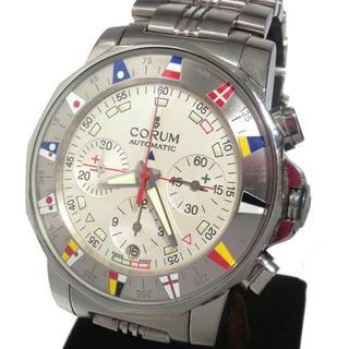 コルム(CORUM)のCORUM アドミラルズカップ  クロノグラフ  自動巻き (腕時計(アナログ))
