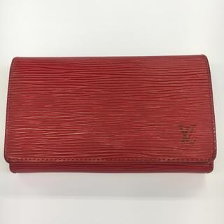 ルイヴィトン(LOUIS VUITTON)の【USED】ルイヴィトン 二つ折り財布 ポルトモネビエトレゾール エピ(折り財布)