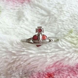 ヴィヴィアンウエストウッド(Vivienne Westwood)のお値下げ☆Vivienneハートリング 10号(リング(指輪))