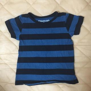 シマムラ(しまむら)のボーダーTシャツ 100cm(Tシャツ/カットソー)