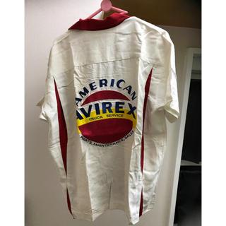 Avirex 刺繍 ボーリングシャツ