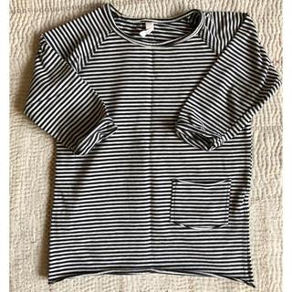 キャラメルベビー&チャイルド(Caramel baby&child )のMINGOミンゴボーダーTシャツ(Tシャツ)