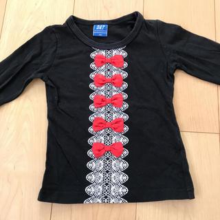 ダット(DAT)のロンT Tシャツ フリル リボン(Tシャツ/カットソー)