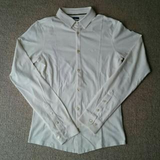 アルマーニジーンズ(ARMANI JEANS)のアルマーニジーンズ ストレッチシャツ メンズ used品✴(シャツ)