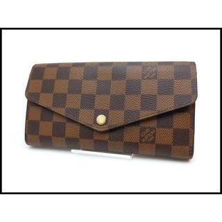 ルイヴィトン(LOUIS VUITTON)のルイヴィトン ダミエ ポルトフォイユ サラ 長財布 N63209(財布)