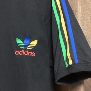 adidas - アディダスオリジナルス Tシャツ マルチカラー 古着