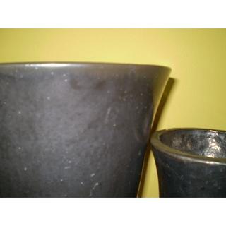 【交渉OK!美品】陶器の鉢★大小2個セット(プランター)