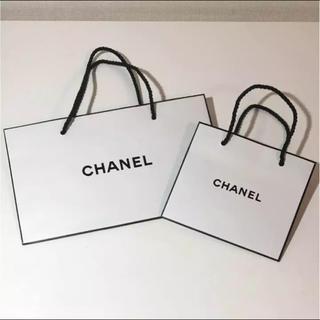 シャネル(CHANEL)のシャネル☆ショップ袋 2枚セット(ショップ袋)