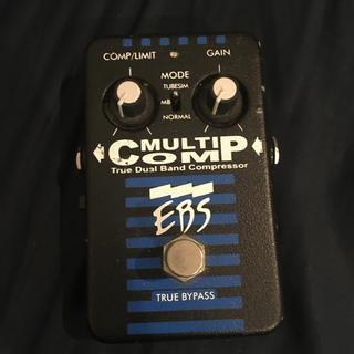 ズーム(Zoom)のEBS マルチコンプ MULTI COMP コンプレッサー エフェクター ベース(ベースエフェクター)