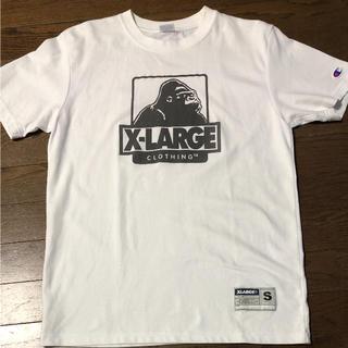 エクストララージ(XLARGE)の【xlarge 】champion Sサイズ Tシャツ(Tシャツ/カットソー(半袖/袖なし))