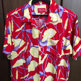 Supreme - Mサイズ Supreme Lily Rayon Shirts Red
