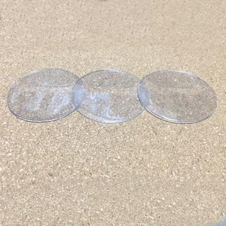 缶バッジカバー 57㎜ 5枚セット まとめ売り 痛バッグにも(バッジ/ピンバッジ)
