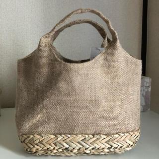 コウベレタス(神戸レタス)の麻素材バッグ(かごバッグ/ストローバッグ)