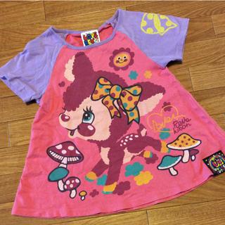 ラブレボリューション(LOVE REVOLUTION)のラブレボ Tシャツ チュニック(Tシャツ/カットソー)