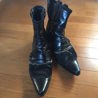 ゴーサンゴーイチプールオム(5351 POUR LES HOMMES)の5351プールオム黒ブーツ44(ブーツ)