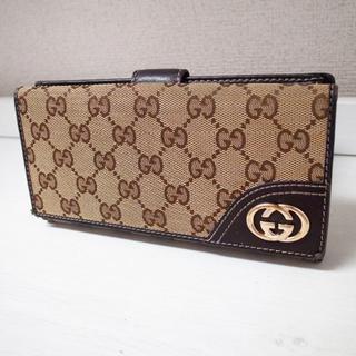 正規品♡最安値♡グッチ 長財布 GG柄キャンバス バッグ 財布 小物