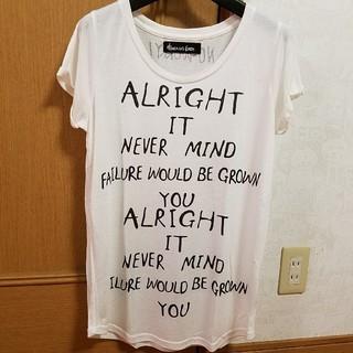 ヘブンアンドアース(HEAVEN and Earth)のレーヨンテロテロTシャツ(Tシャツ(半袖/袖なし))