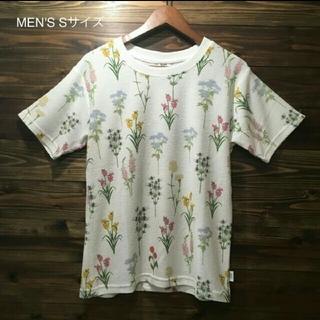 ジムマスター(GYM MASTER)の【新品】爽やかな着心地が最高なジムマスターの梨地総柄Tシャツです。(Tシャツ(半袖/袖なし))