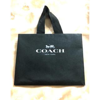 コーチ(COACH)のCOACH コーチ ショッパー袋  ブラック(ショップ袋)