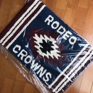 ロデオクラウンズワイドボウル(RODEO CROWNS WIDE BOWL)のRCWB★ネイティヴ柄足マット(玄関マット)