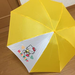 ハローキティ(ハローキティ)の【新品】ハローキティ 折り畳み傘(傘)