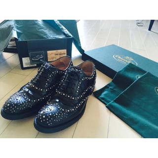 チャーチ(Church's)のchurch'sチャーチ スタッズシューズ 靴 36.5(ローファー/革靴)