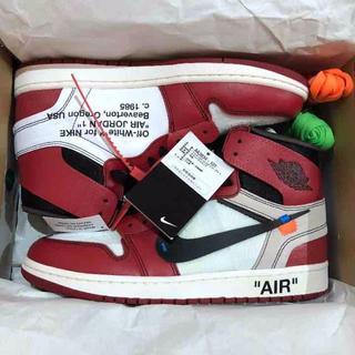 ナイキ(NIKE)のOff White Air Jordan 1 Nike the ten  ナイキ(スニーカー)