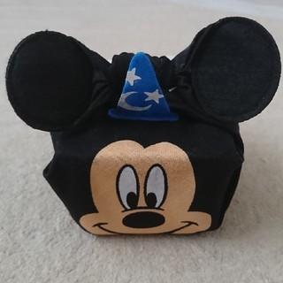 ディズニー(Disney)のミッキー ランチケース&チーフセット 【新品未使用】(弁当用品)