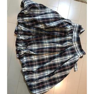 スナイデル(snidel)のSnidel チェックバルーンスカート(ひざ丈スカート)