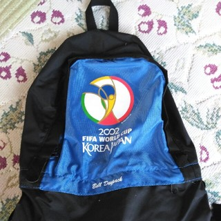 FIFAWORLD CUP2002年サッカー リックサック(記念品/関連グッズ)