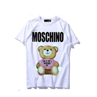 モスキーノ(MOSCHINO)のLOVE MOSCHINO ラブ モスキーノ Tシャツ カットソー ホワイト M(Tシャツ(半袖/袖なし))