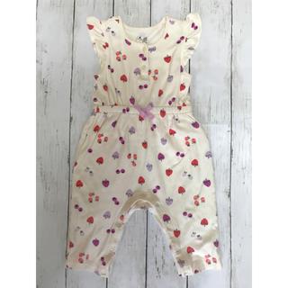 可愛すぎる♡◆baby Gap◆袖フリル ロンパース 70サイズ