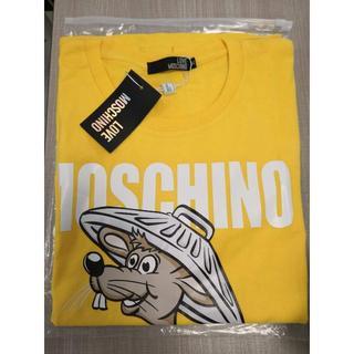 モスキーノ(MOSCHINO)のLOVE MOSCHINO Tシャツ ネズミ ロゴ 可愛い プリント XL(Tシャツ(半袖/袖なし))