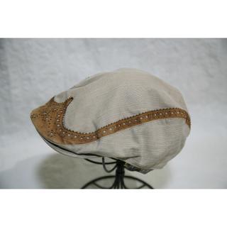 新品 GRACE GOLD / メダリオンハンチング(ハンチング/ベレー帽)