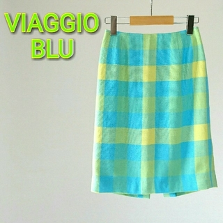 ビアッジョブルー(VIAGGIO BLU)のVIAGGIO BLU ビアッジョブルー スカート(ミニスカート)
