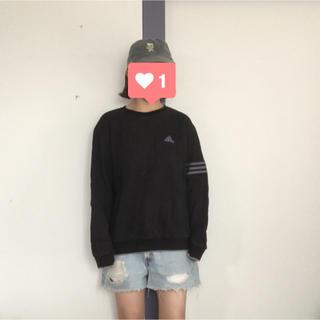 adidas - adidas ロゴ刺繍スウェット