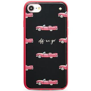 新品 kate spade iPhone7/8 クラシックカー ハードタイプ